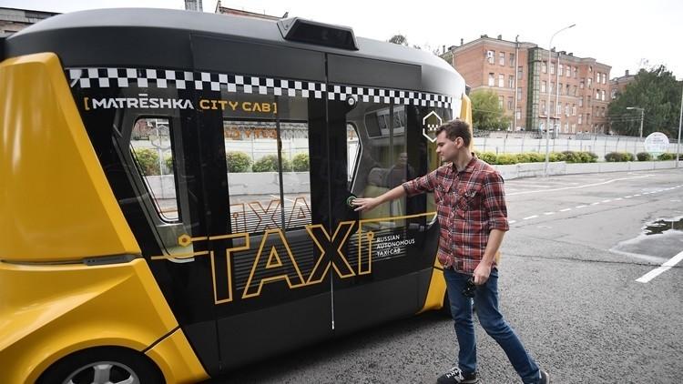 Smartbus MatrЁshka: el primer autobús ruso que se conduce solo (FOTOS)
