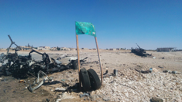 Liberan el último gran bastión del Estado Islámico en el centro de Siria