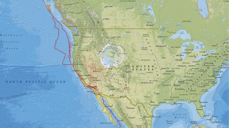 EE.UU.: Un fuerte terremoto de magnitud 5,3 sacude el estado de Idaho