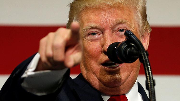 """""""Ya veremos"""": Trump aclara si empleará la fuerza militar contra Corea del Norte"""