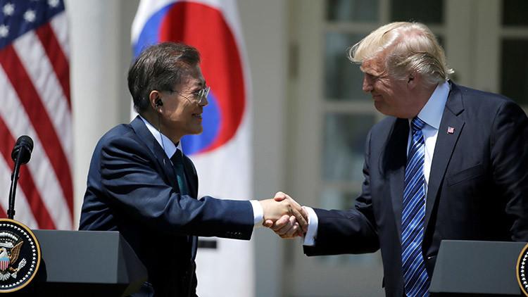 """Trump: """"EE.UU. puede romper lazos comerciales con los países que hagan negocios con Pionyang"""""""