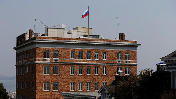"""Moscú: Los registros en las instalaciones diplomáticas rusas en EE.UU. son un """"gamberrismo estatal"""""""