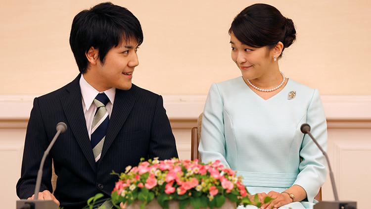 La princesa Mako de Japón anuncia su compromiso con un plebeyo y perderá su estatus real