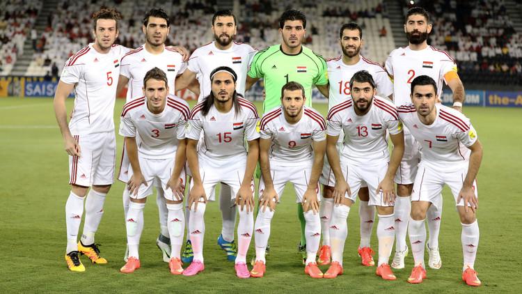 Siria está a punto de clasificarse para el Mundial de Rusia 2018