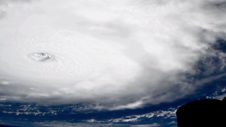 """VIDEO: Las increíbles imágenes de Irma, el huracán """"más fuerte de Atlántico"""", grabadas por la NASA"""