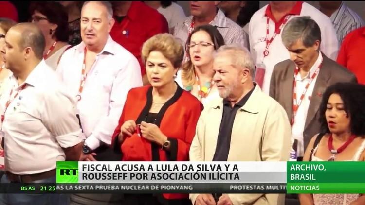 El fiscal general de Brasil acusa a Lula Da Silva y a Rousseff de asociación ilícita