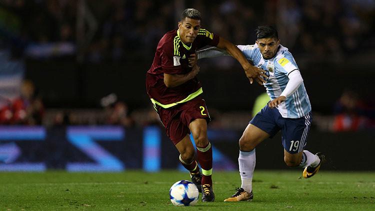 Argentina se complica la clasificación al Mundial de 2018 tras empatar con Venezuela