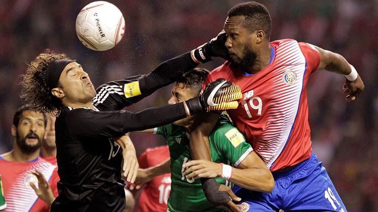 México empata con Costa Rica en las eliminatorias para el Mundial de Rusia 2018