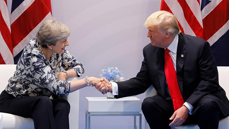 Trump afirma a May que las conversaciones con Pionyang están descartadas en estos momentos