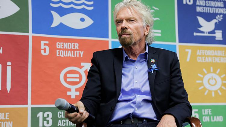 Así se prepara el multimillonario Richard Branson para enfrentar el huracán Irma