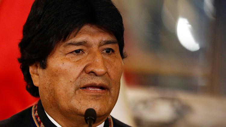Evo Morales pide enjuiciar a magistrados bolivianos por el caso de 'misiles chinos'