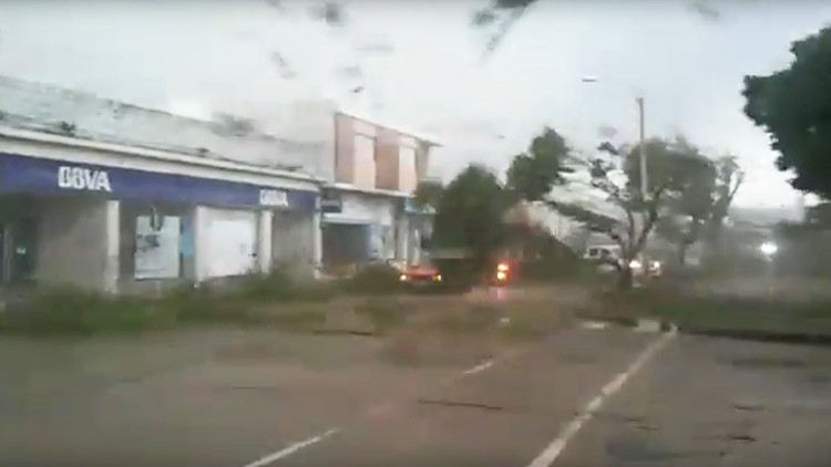 OJO: Este video del huracán Irma en Barbuda es falso
