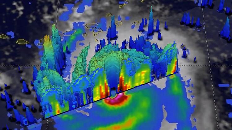 VIDEO: Así es 'por dentro' el huracán Irma, según una animación 3D de la NASA