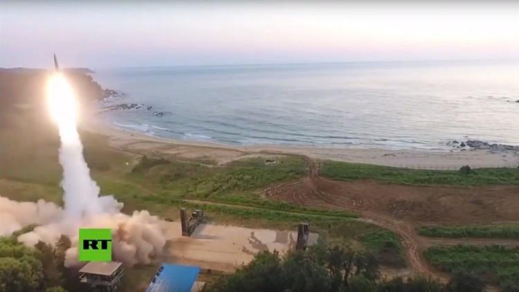 PRIMERAS IMÁGENES: Las maniobras surcoreanas tras la sexta prueba nuclear de Pionyang