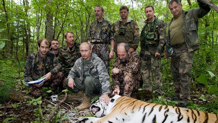 "Presidente de Corea del Sur: Putin tiene ""espíritu de tigre siberiano"""