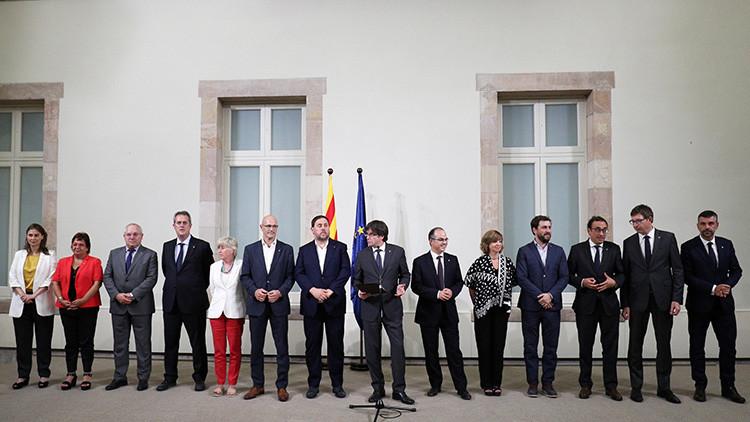 Continúa el desafío independentista: El Parlamento catalán aprueba la Ley de Transitoriedad Jurídica