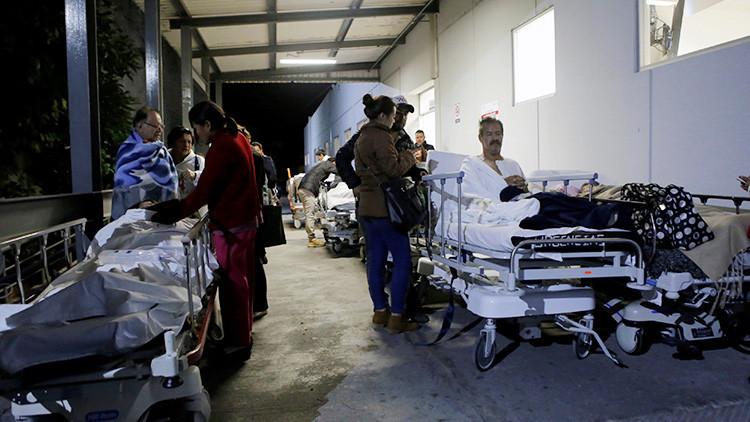 FOTOS: Varios atrapados en un hotel en Oaxaca tras el fortísimo terremoto