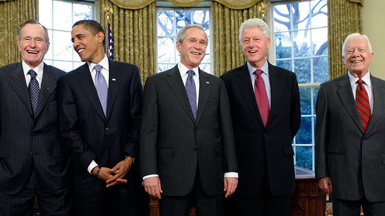 Video: Cinco expresidentes de EE.UU. recaudarán fondos para las víctimas del huracán Harvey