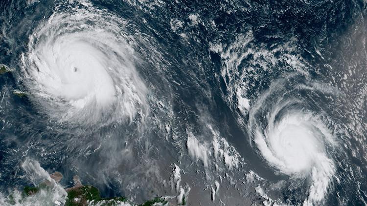 José alcanza el poder de Irma: ya es un huracán de categoría 4