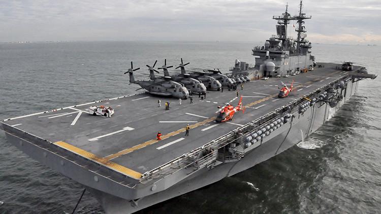 EE.UU. envía buques militares con ayuda a Puerto Rico y las islas Vírgenes estadounidenses