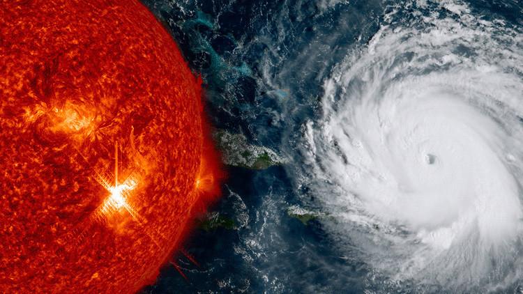 """Tras huracanes, llamaradas solares y terremotos, ¿cuál es la """"amenaza triple"""" de este fin de semana?"""