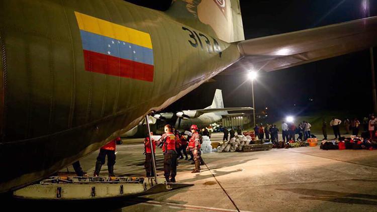 Venezuela envía ayuda a Barbuda y pone a disposición dos aviones para trasladar otros auxilios