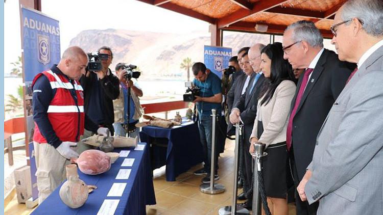 Perú recupera piezas patrimoniales de más de 400 millones años de antigüedad
