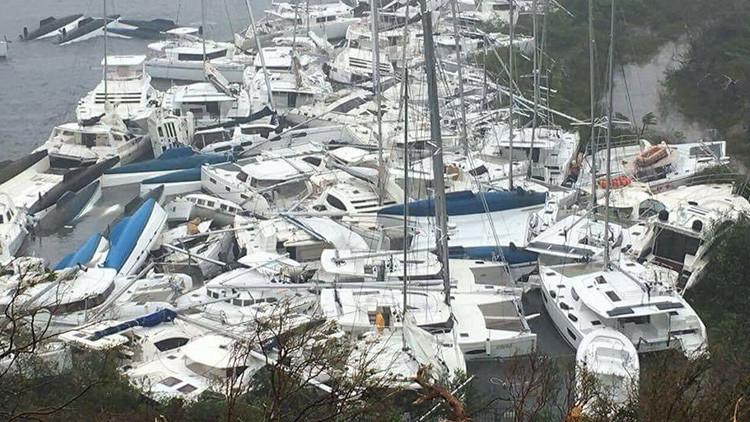 Antes y después: Así están los paraísos turísticos del Caribe tras el paso del huracán Irma (FOTOS)