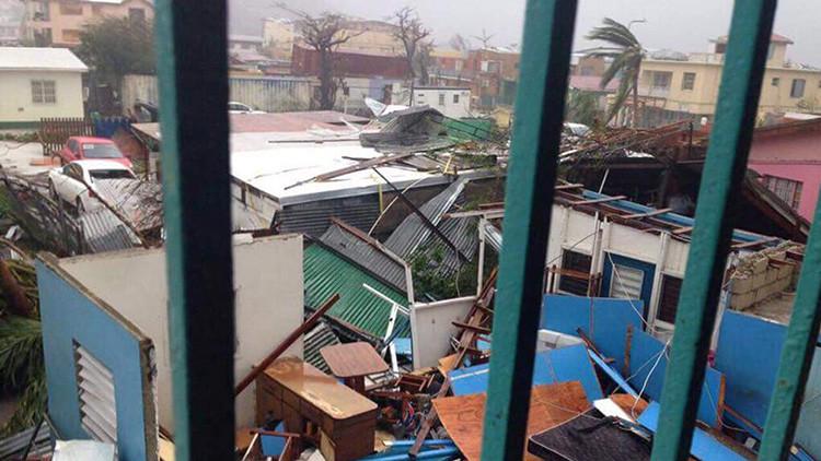 Irma destruyó o dañó el 70% de hogares en isla San Martín, que ahora se prepara para el huracán José