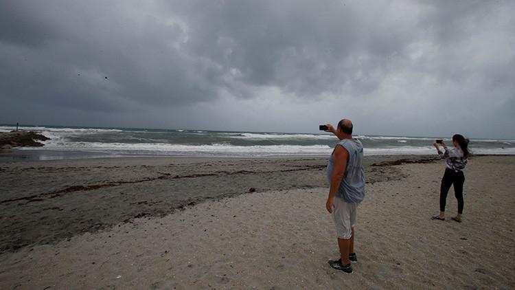 ¿Dónde está el mar? El huracán Irma aleja el agua de las costas en una isla de las Bahamas (VIDEO)
