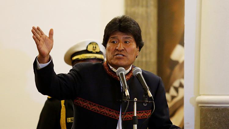 Evo Morales explica el origen de los devastadores huracanes