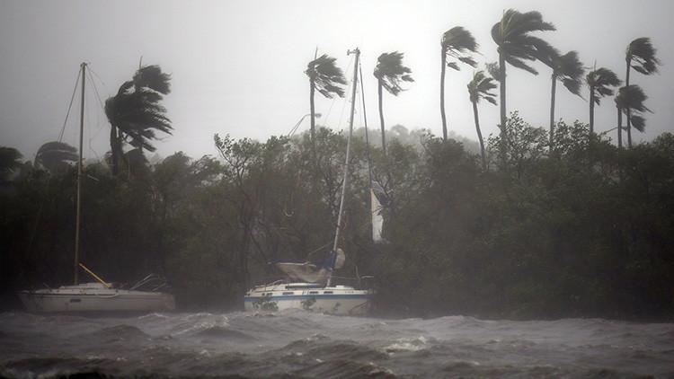 VIDEO: El ojo del huracán Irma toca tierra en Florida con categoría 3
