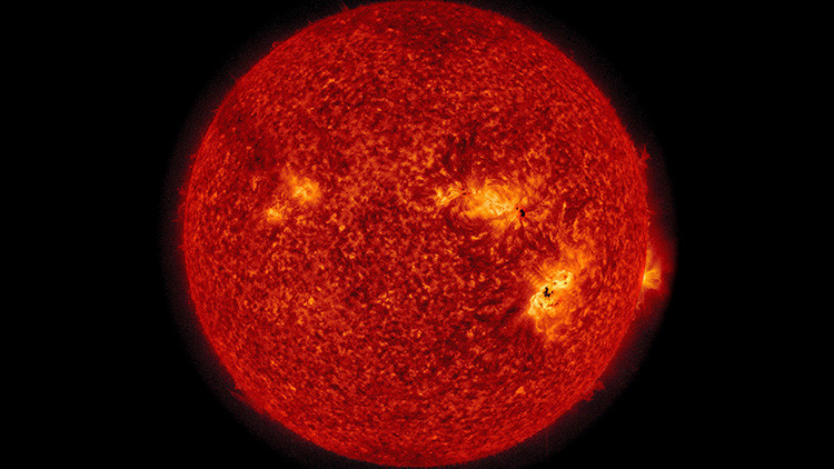 El Sol emite otra fortísima llamarada, la cuarta en menos de una semana