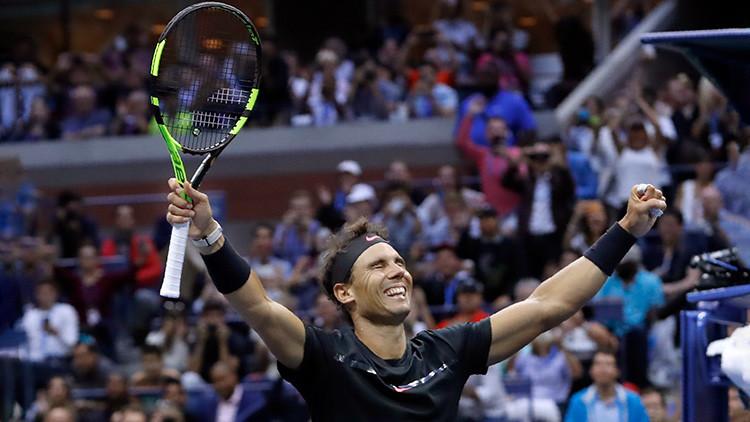 Rafael Nadal se lleva el abierto de EE.UU. ante Kevin Anderson