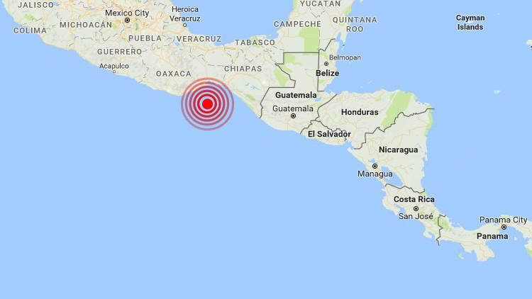 Un sismo de magnitud 4,3 se registra en el golfo de Tehuantepec