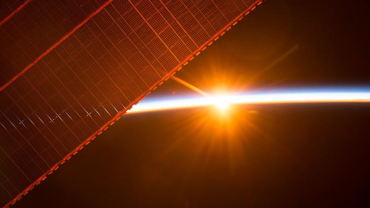 """""""Alerta"""": La tripulación de la EEI se resguarda por el peligro de las fortísimas llamaradas solares"""