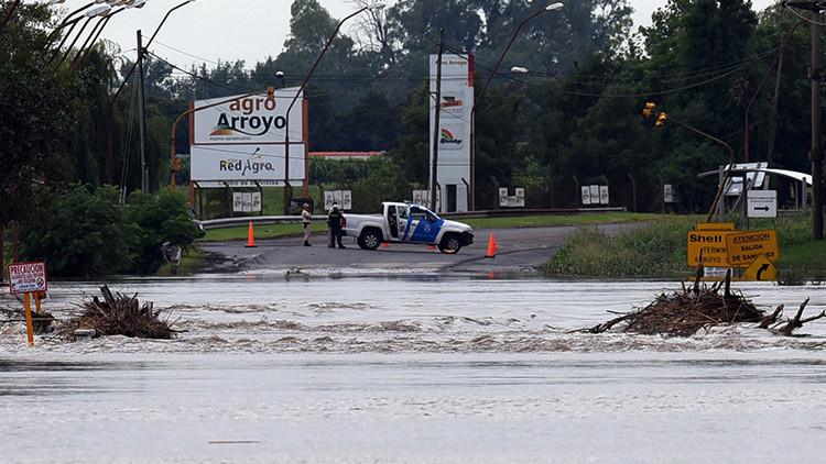 No fue Irma: diez provincias argentinas quedaron bajo el agua por un temporal