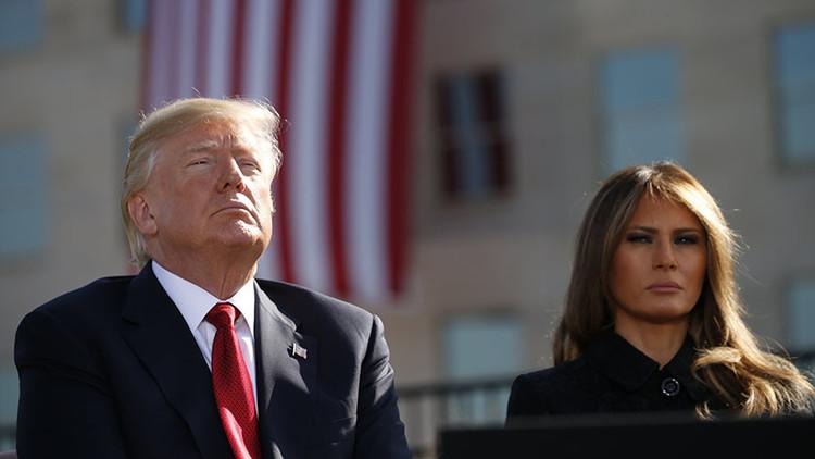 """Trump, desafiante en el aniversario del 11-S: """"A EE.UU. no se le amenaza"""""""