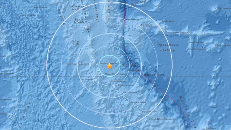 No Japão, a magnitude 5,6 registrado