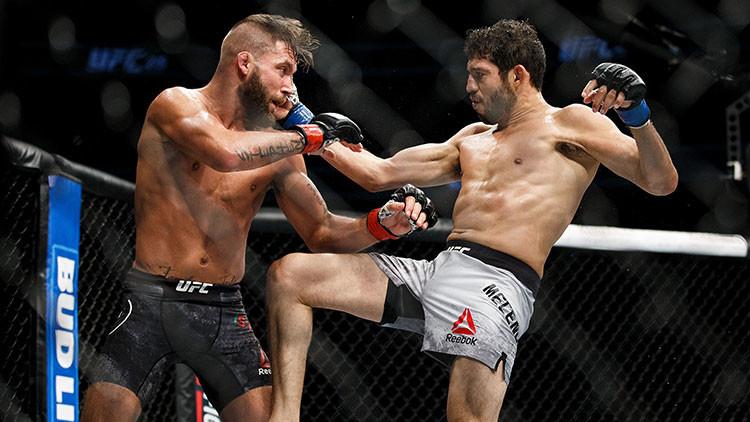 Impactantes imágenes: Un luchador de la UFC acaba con una pierna destrozada tras combate