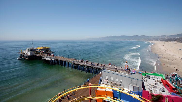 EE.UU.: Evacuan el muelle de Santa Monica por una amenaza de bomba