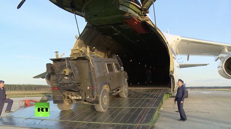 Rusia envía zapadores para ayudar a desminar zonas liberadas de Deir ez Zor (VIDEO)