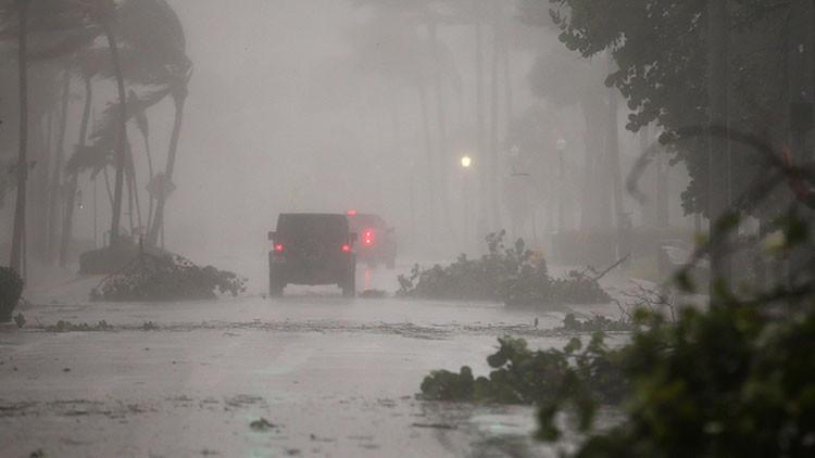 Un video 'timelapse' muestra el impacto de Irma en Miami Beach