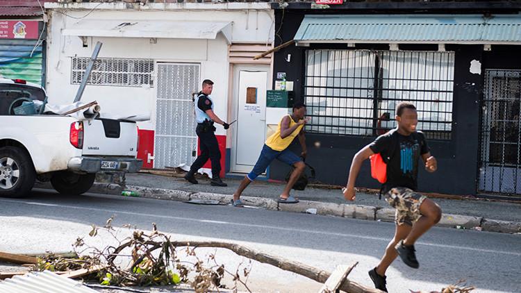Caos en el Caribe: Cientos de delincuentes aterrorizan las islas golpeadas por el huracán