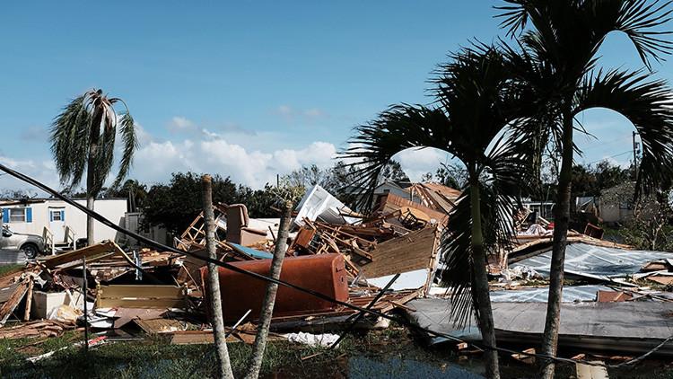 EE.UU. envía un portaviones y dos buques a Florida para la búsqueda y rescate tras Irma
