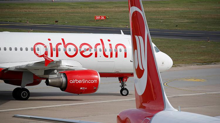 Nueva jornada de bajas masivas: Casi 150 pilotos de Air Berlin no se presentan a trabajar