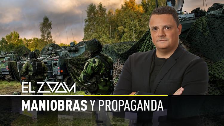 Maniobras y propaganda