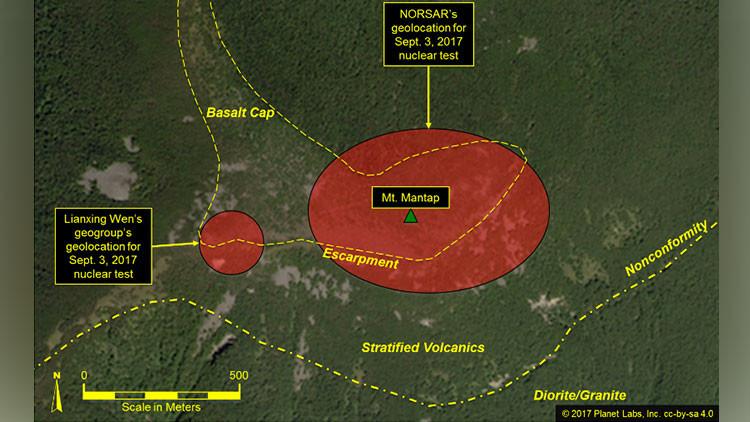 Imágenes satelitales dan a presuponer nuevos preparativos tras la última prueba nuclear norcoreana