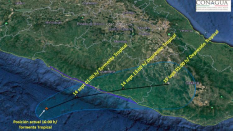 Y ahora viene Max: nueva tormenta tropical se forma frente a las costas de México