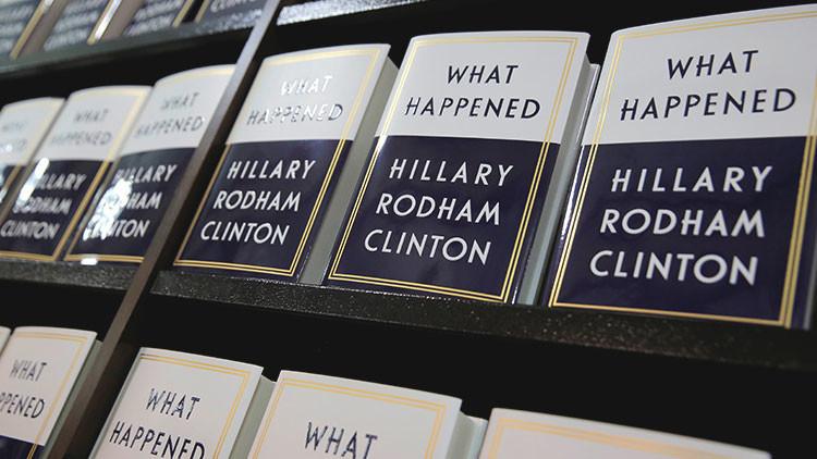 """Con su nuevo libro, Hillary Clinton demuestra que """"aún no sabe por qué perdió las elecciones"""""""